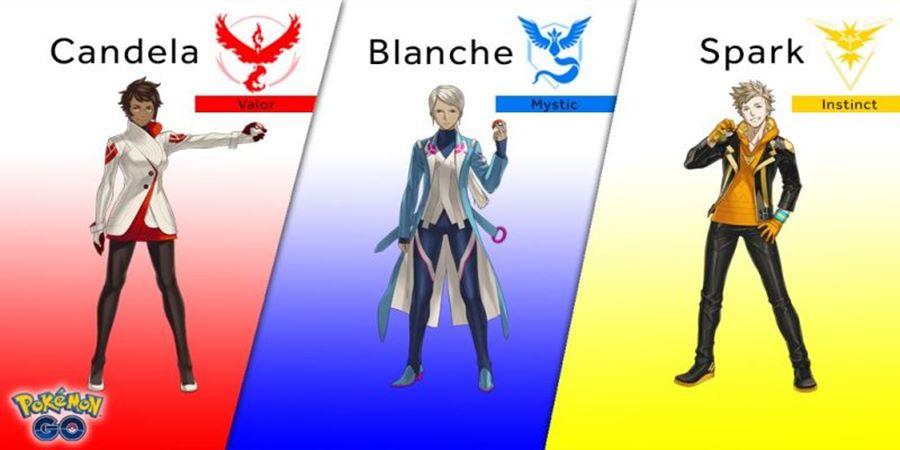 pokemon-go-personagens-mobilegamer-1 Veja como a Internet reagiu aos líderes de cada time de Pokémon GO