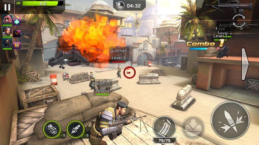 """rival-fire-android-mobilegamer-1 Rival Fire: game da GLU chega ao Android e iOS com """"forte inspiração"""" nos jogos de tiro chineses"""