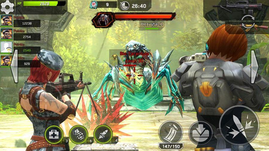 """rival-fire-android-mobilegamer Rival Fire: game da GLU chega ao Android e iOS com """"forte inspiração"""" nos jogos de tiro chineses"""