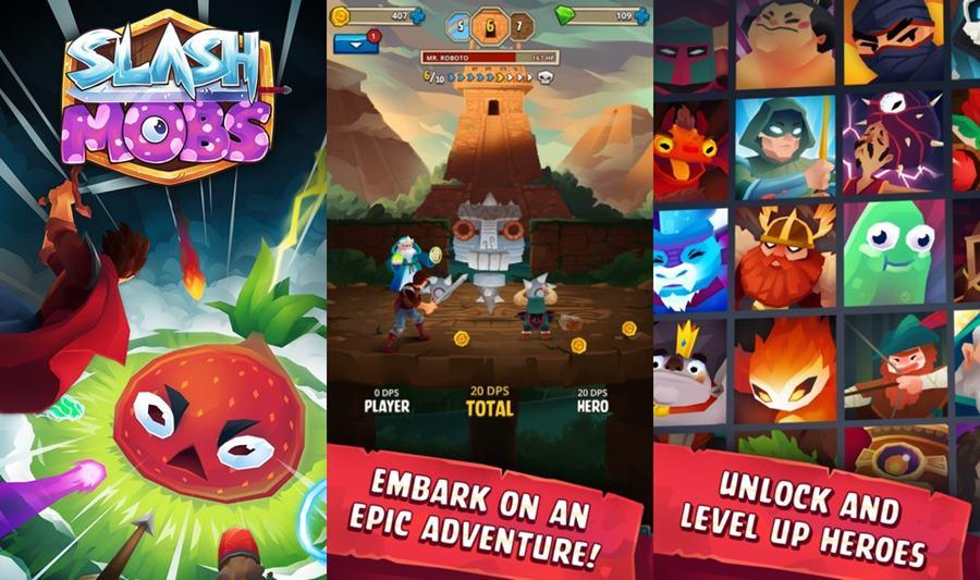 slash-mobs-iphone-ipad-android Melhores Jogos para iPhone e iPad da Semana #29