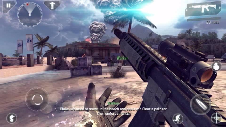 Modern-combat-4-v117c-full-mod 25 Jogos HD com Gráficos Perfeitos para Android e iOS #1