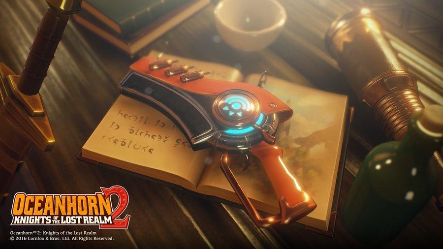 Caster, a nova arma principal em Oceanhorn 2