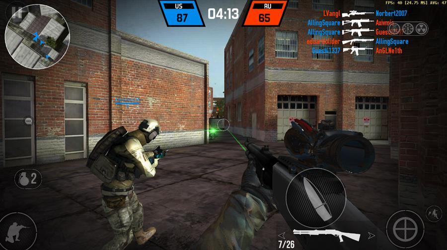 bullet-force-android-apk-baixar-mobilegamer 25 Melhores Jogos para Android Grátis - 2º Semestre de 2016