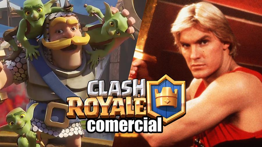 comercial-clash-royale-queen-1 Detonator e Marcelo Adnet estrelam o comercial brasileiro de Clash Royale