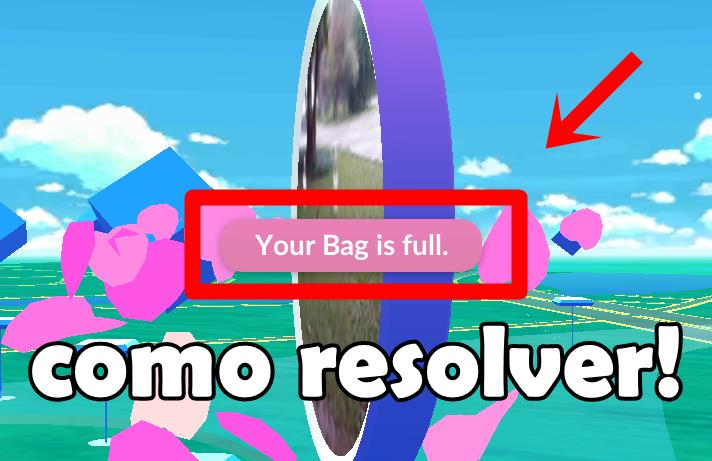 como-resolver-your-bag-is-full-pokemon-go-android-ios-mobile-gamer Pokémon GO: como resolver a mensagem de erro: Your Bag is Full