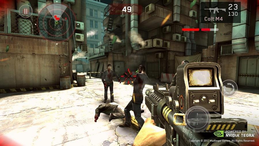 dead-trigger-1-nvidia 25 Melhores Jogos de Tiro (FPS) OFFLINE para Android e IOS