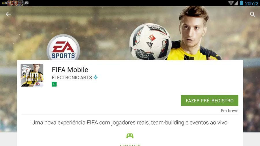 FIFA 17 Mobile abre pré-registro na Google Play e revela novos detalhes