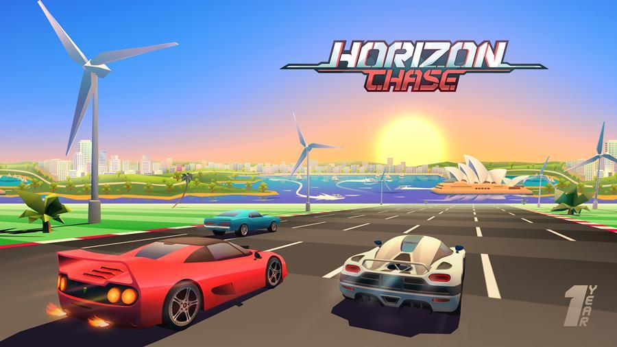 horizon-chase-top-gear-aniversario-1-ano-mobilegamer Horizon Chase comemora seu aniversário com nova fase e versões para Android TV e Apple TV