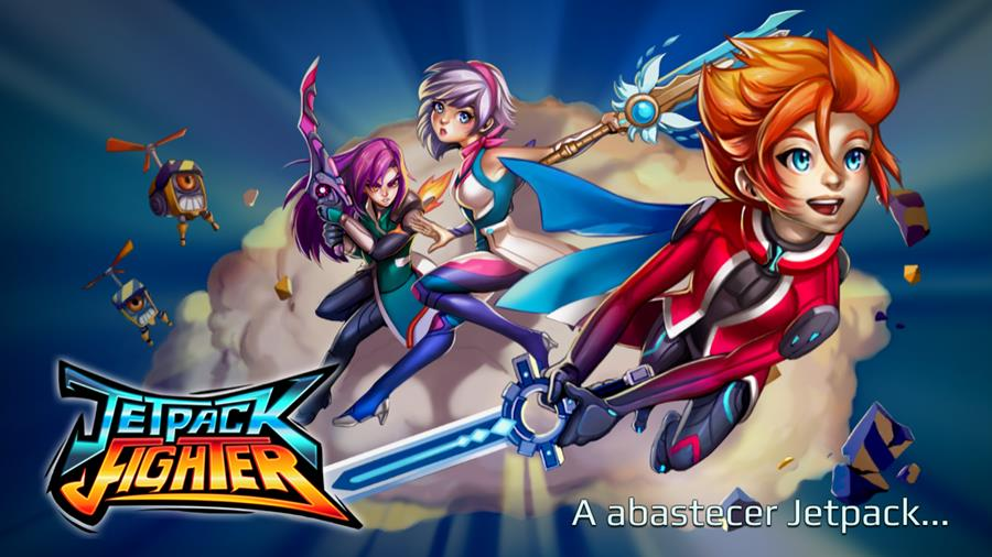 jetpack-fighter-android-ios-mobilegamer Jetpack Fighter é uma mistura de Megaman e Rodea The Sky Soldier (Android e iOS)