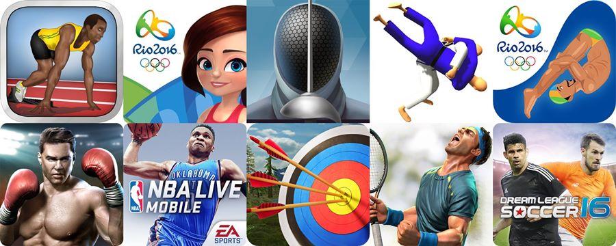 jogos-olimpicos-android-melhores-games-esportes-rio-2016 Rio 2016: 10 Jogos para Android com Esportes das Olimpíadas