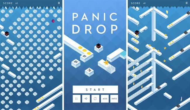 panic-drop-iphone-ipad-mobile-gamer Melhores Jogos para iPhone e iPad da Semana #31