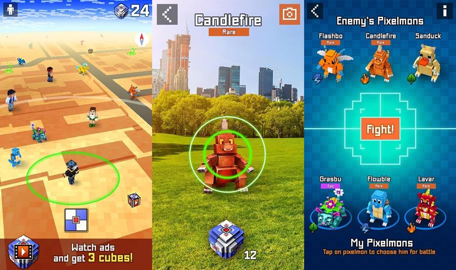 pixelmon-go-mobilegamer Pixelmon GO: o clone para quem não consegue jogar Pokémon GO
