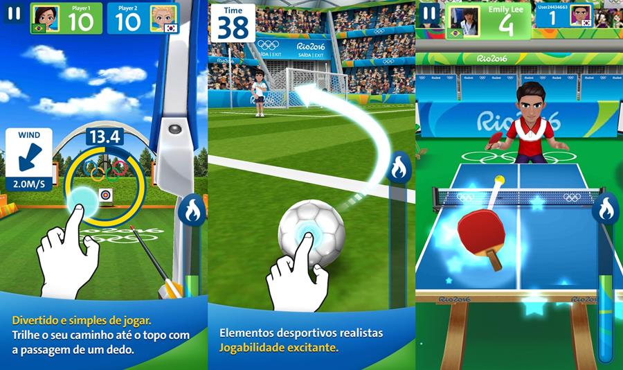 rio-2016-jogos-olimpicos-iphone-ipad-mobilegamer Rio 2016: 10 Jogos para Android com Esportes das Olimpíadas