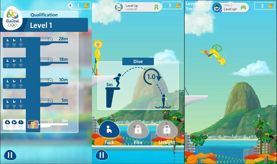 salto-ornamental-game-android-rio-2016-mergulho-mobilegamer Rio 2016: 10 Jogos para Android com Esportes das Olimpíadas