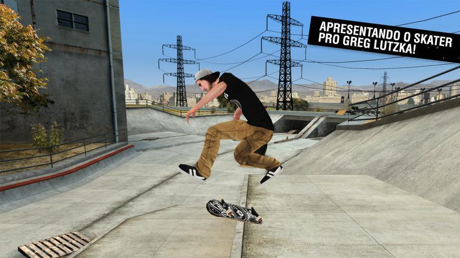 skateboard-greg-lutzka-android-mobilegamer 50 Jogos para Android compatíveis com Controle e Gamepad Bluetooth