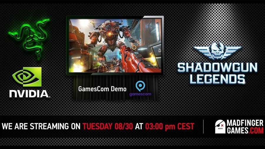 streaming-twitch-tv-shadowgun-legends Madfinger Games faz Livestream para apresentar Shadowgun Legends (Android e iOS)