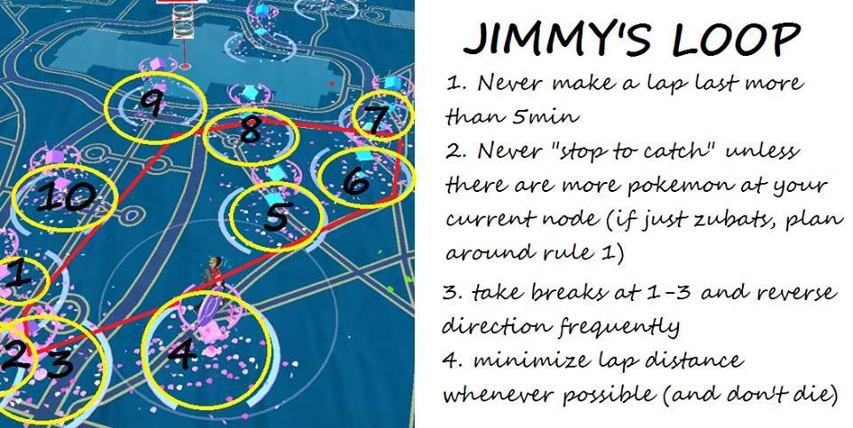xnosity-jimmy-pokemon-go-percurso Pokémon GO: jogador é banido injustamente ao criar percurso de Pokéstops