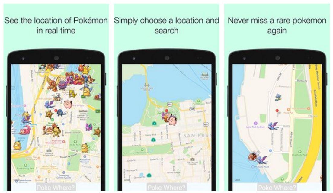 PokeWhere-Realtime-Pokeradar-APK Pokewhere: radar e mapa mostram pokémons raros em Pokémon GO