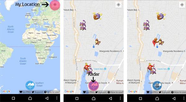 PokeWhere Pokewhere: radar e mapa mostram pokémons raros em Pokémon GO