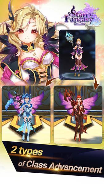 Starry-Fantasy-Online-Android-Game-1 Starry Fantasy Online é um MMO que pode ser jogado no celular ou no PC