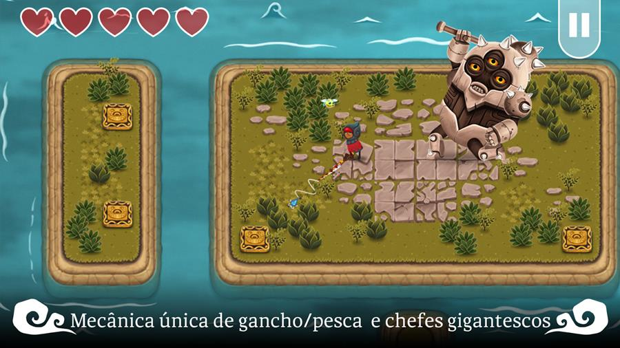a-lenda-de-skyfish-2 A Lenda de Skyfish: game no estilo Legend of Zelda brilha no Android e iOS