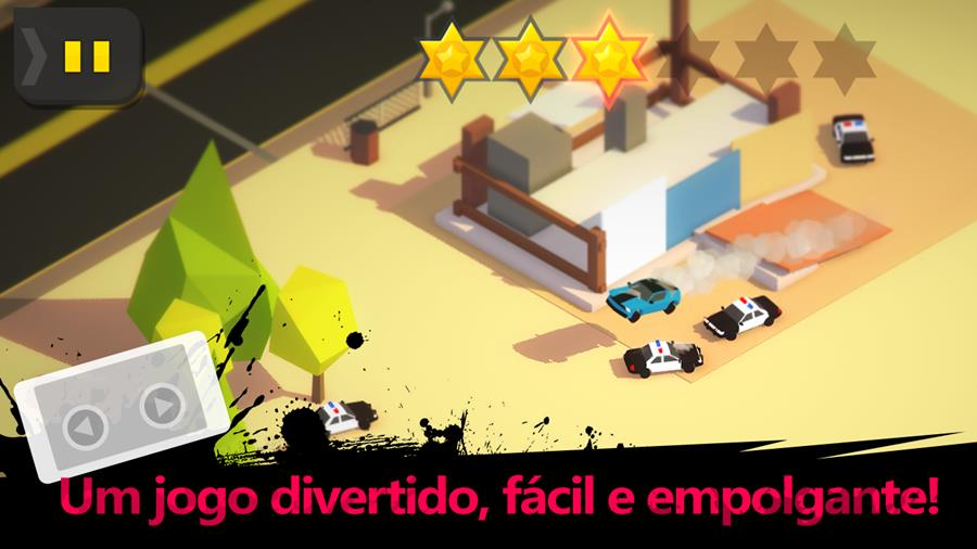 burnout-city-android-ios Fuja da polícia no game OFFLINE Burnout City (Android e iOS)