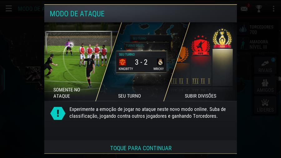 fifa-17-mobile-android-ios-como-jogar-1-1 Review: FIFA Mobile é um jogo casual, e não pode ser comparado ao passado da franquia