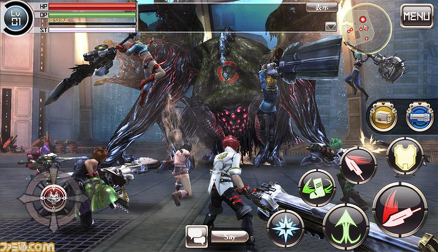 god-eater-online-android-ios-2 Bandai Namco anuncia God Eater Online para Android e iOS