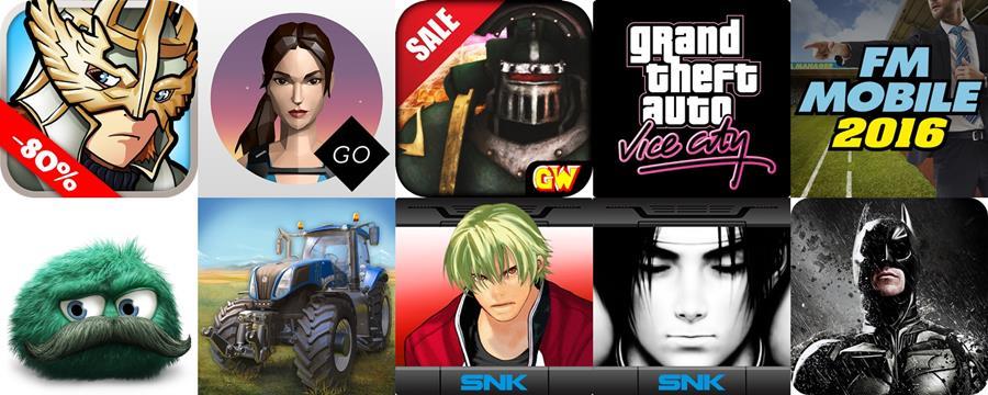 jogos-em-promocao-android-google-play-setembro-2016-1 KOF, Batman, Minecraft e mais: veja Jogos Android em Promoção