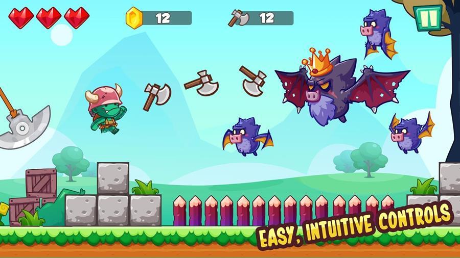 jungle-adventures-android-1 Jogo Offline no estilo Super Mario faz sucesso no Android e iOS