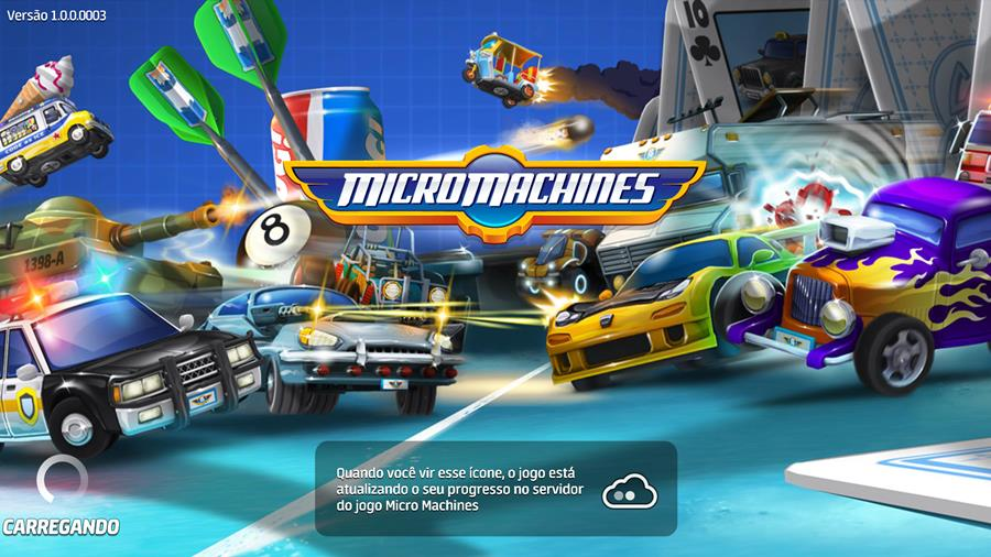 micro-machines-android-ios-1 Micro Machines: game de carrinhos com multiplayer chega ao Android