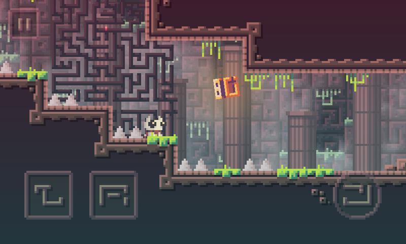 reed-android-game-2 Reed é um jogo OFFLINE de plataforma que promete te irritar muito (Android)