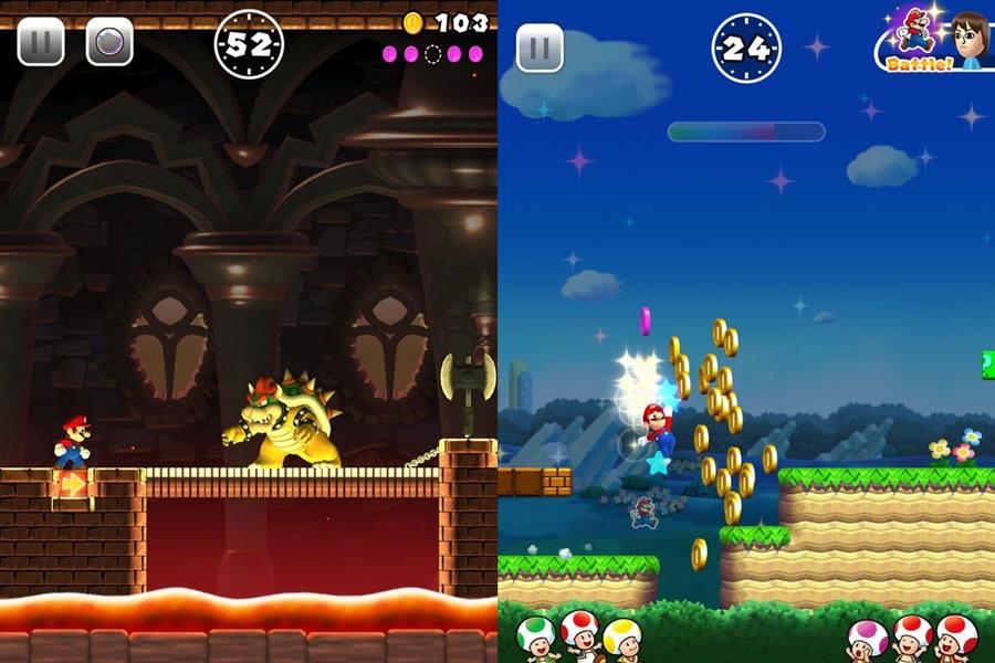super-mario-run-gameplay-1 Nintendo apressou o lançamento de Super Mario Run no iOS