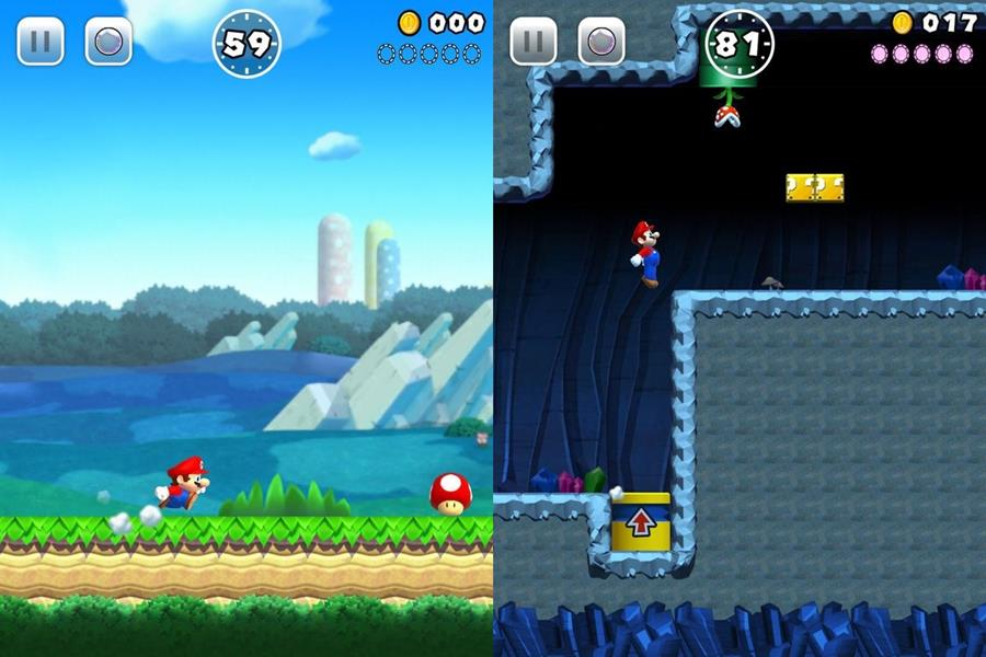 super-mario-run-gameplay-2 Nintendo apressou o lançamento de Super Mario Run no iOS