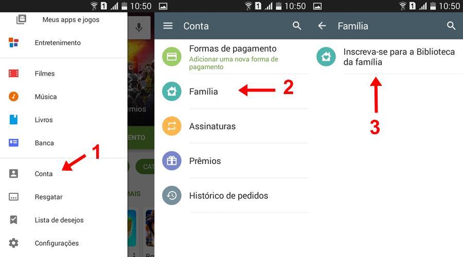 tutorial-biblioteca-familia-android-google-play-1 Como usar a Biblioteca da Família e compartilhar jogos pagos na Google Play