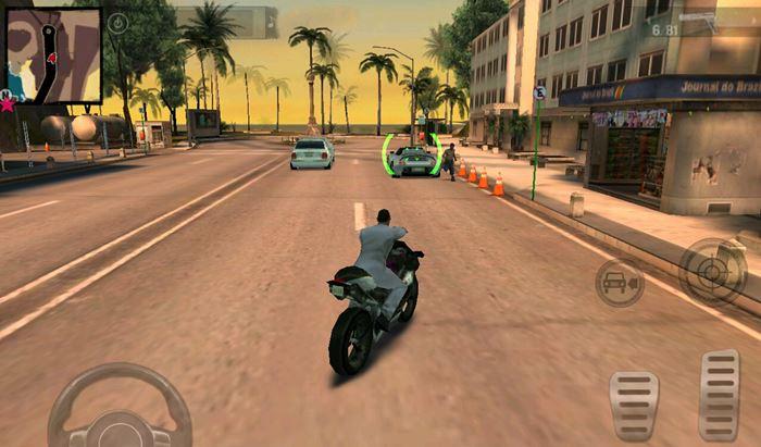Gangstar-Rio-3 25 Melhores Jogos de Mundo Aberto OFFLINE do Android e iOS