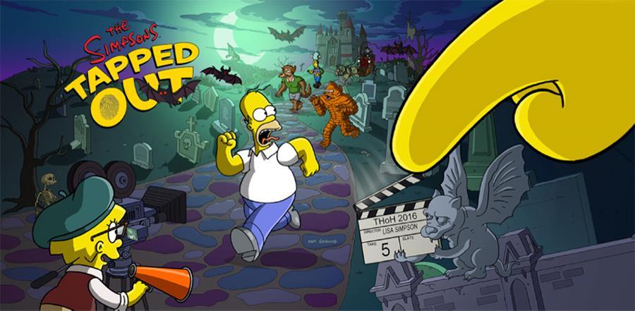 Simpsons-Tapped-Out-Halloween-update The Simpsons: Tapped Out ganha atualização do dia das Bruxas (Android e iOS)