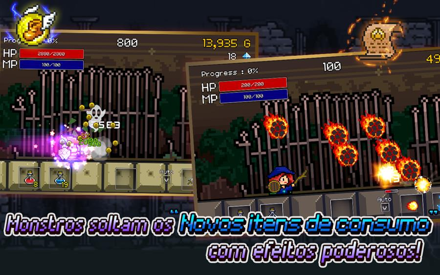 "Buff Knight Advanced: ""buffe"" seus personagens neste jogo para Android e iOS"