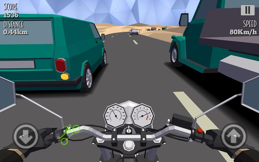 cafe-racer-android-jogo-de-moto Cafe Racer traz diversão para quem curte jogos de moto (Android)