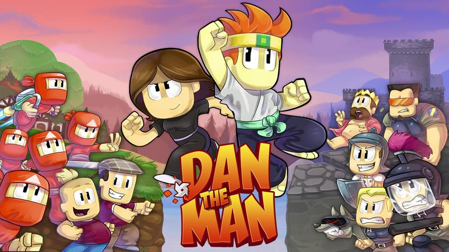 dan-the-man-1 Dan The Man: ação e pancadaria em um divertido jogo OFFLINE (Android e iOS)