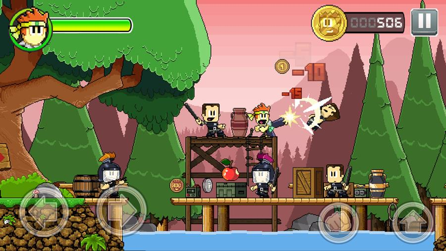 dan-the-man-2 10 Jogos LEVES e OFFLINE para Android #2