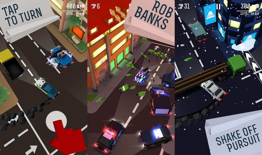 drift-chase-iphone-game Melhores Jogos para iPhone e iPad da Semana #40 de 2016