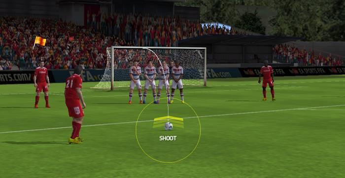 fifa-mobile-como-bater-falta FIFA Mobile: Dicas de como Chutar e fazer Gol Sempre