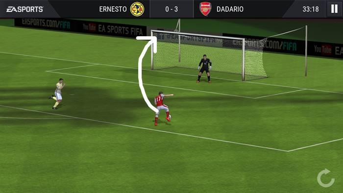 fifa-mobile-como-chutar-fazer-gol-sempre FIFA Mobile: Dicas de como Chutar e fazer Gol Sempre