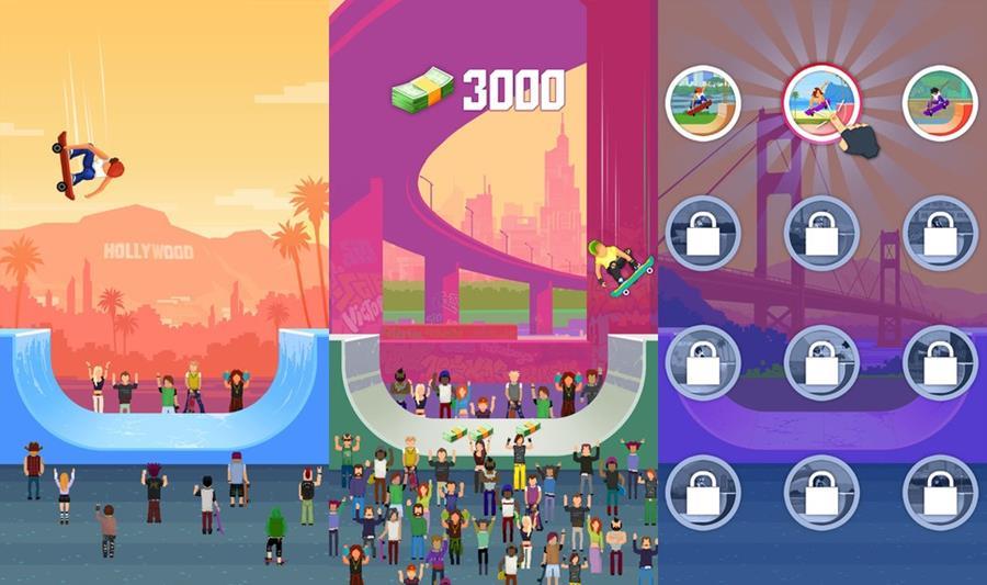 halfpine-hero-android-ios Halfpipe Hero: vire uma fera do skate neste jogo OFFLINE