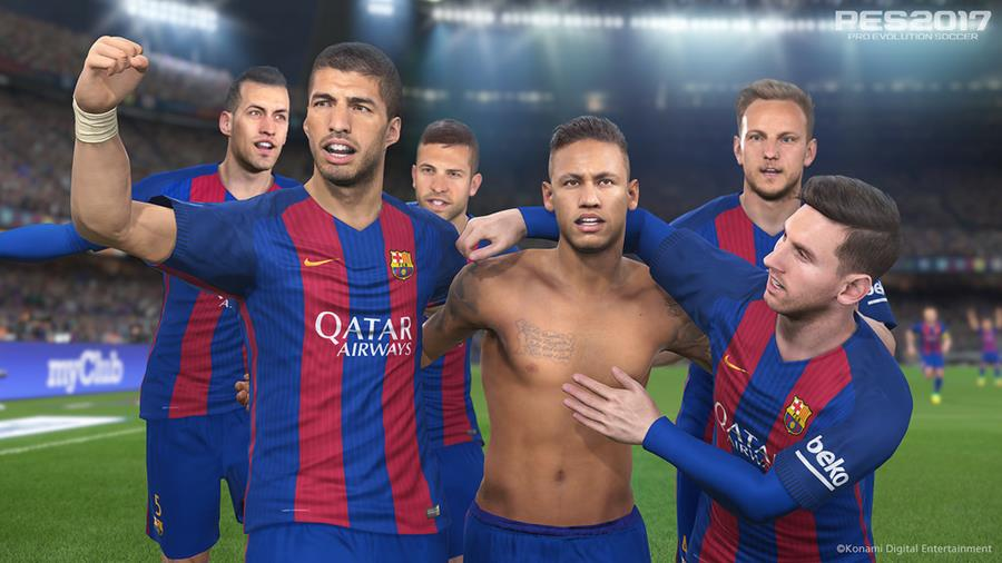 PES 2017 Mobile: vídeo com gameplay surge no Youtube, assista!