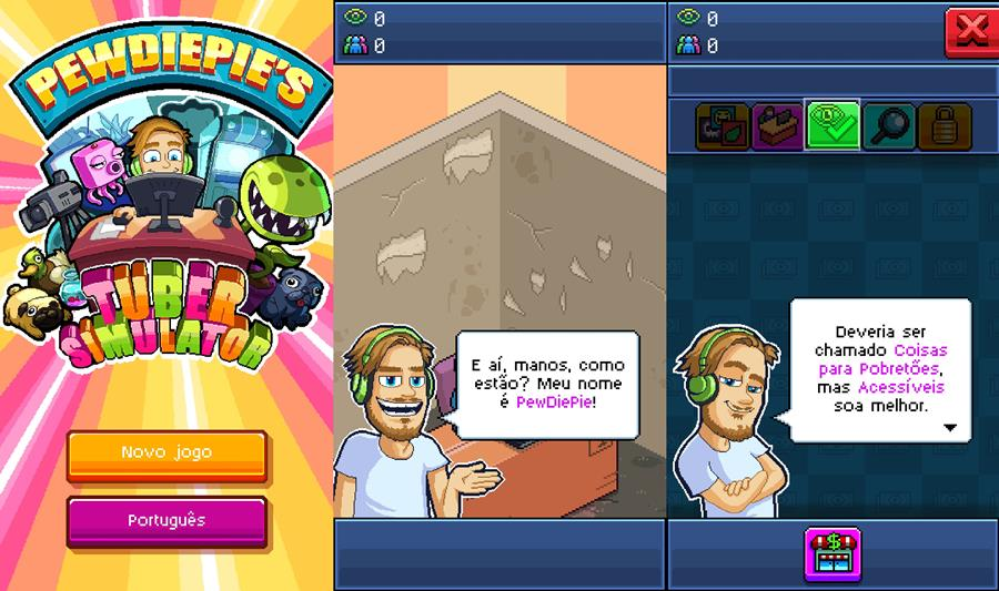 pewdiepie-tube-simulator-android-apk-ios-1 PewDiePie's Tuber Simulator é mais um game para Android do famoso youtuber