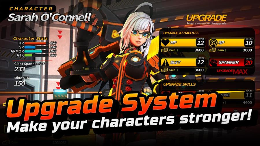 smashing-the-battle-android-ios-game-2 Smashing The Battle traz garotas de anime e muito hack'n slash para Android e iOS