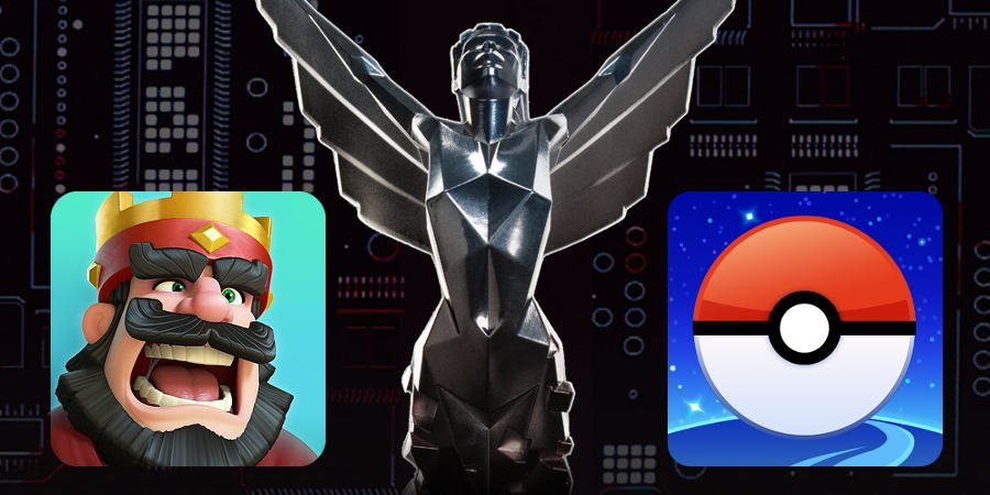 The-Game-Awards Clash Royale e Pokémon GO são candidatos a jogo mobile do ano no Game Awards