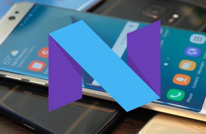 android-7-nougat-galaxy-s7-edge Parece que atualizar o Galaxy S7 Edge para Android 7.0 Nougat não é uma boa ideia